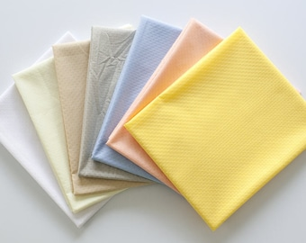 Non-slip Fabric - Yellow, Peach, Sky, Gray, Beige, Lemon or White - By the Yard 95189
