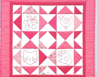 Taylor Made Designs A New Look For Redwork TMB-138 Cindy Taylor Oates Red and White Embroidery Pattern Book Quilting Design Scrollwork