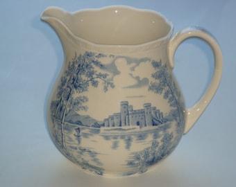 Queens Castle Milk / Cream Jug by Alfred Meakin