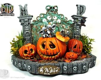 MD CLASSIC PHOTOPRINT- Pumpkin Dragon