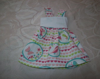 dress for dolls of 32 33 cm, with the girls