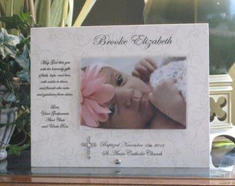 Gift for Goddaughter, GODDAUGHTER Gift, Goddaughter Frame, Goddaughter Picture Frame, Photo Frame, 4x6 photo, Saying Choice, metal cross