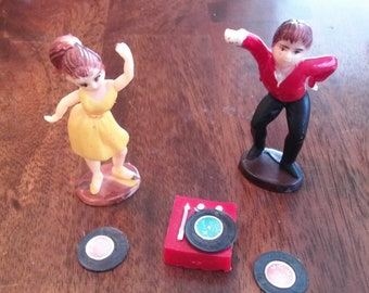 1950's Cake Toppers