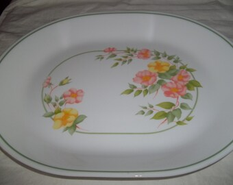 Corelle Windsor Rose Serving Platter