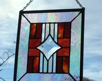 Southwest Stained Glass Panel #2