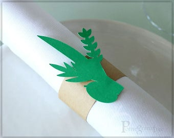 Lulav And Etrog Paper Napkin Rings Green Sukkot Table Decor Jewish Holiday Decoration Sukkah Decorations Jewish Party Supply Green Lulav