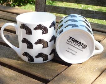 Black Greyhound Mug