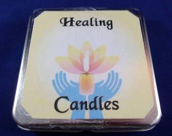 Healing Candles Tin