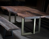 Walnut Dining Table Set...