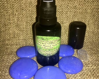 Customizable Cleansing Oil Makeup Remover Combination Deep Pore Facial Cleanser Grapeseed Almond Hemp Olive Face Wash 1.5oz Pump EOsofChoice