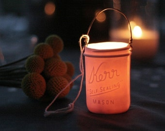 Mason Jar Votive Lantern