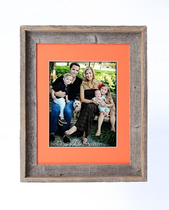 BarnwoodUSA 16 x 20 pulgadas firma foto marco para fotos de 11