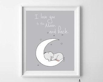 Elephant Printable Nursery Art,Elephant Nursery Decor,Elephant Baby Art,Elephant Nursery Art,Elephant Boys Nursery,Elephant Girls Nursery,