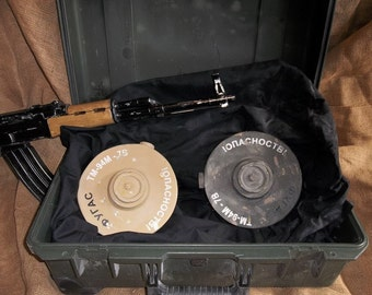 Landmine Film Prop (Soviet-Looking)