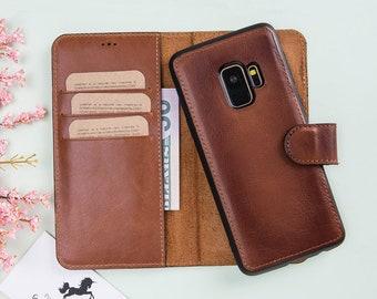 Leather S9 Plus Case, Samsung S9 Wallet Case, Samsung Galaxy S9 Leather Wallet Case, Leather S9 Wallet Case, Samsung S9 Plus Case