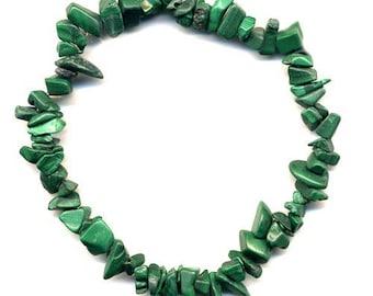 Baroque bracelet Malachite