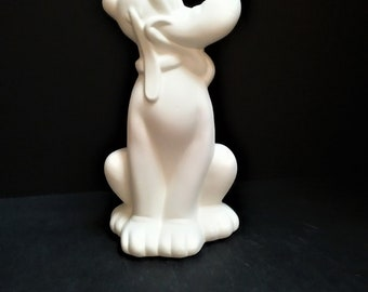 Disney Pluto Ceramic Bisque Read-to-paint