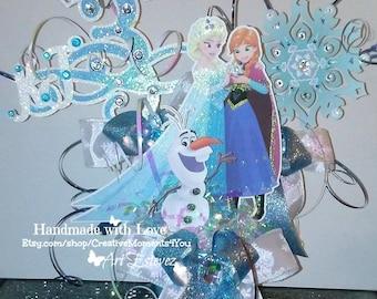 Disney Frozen Table Centerpiece Personalized