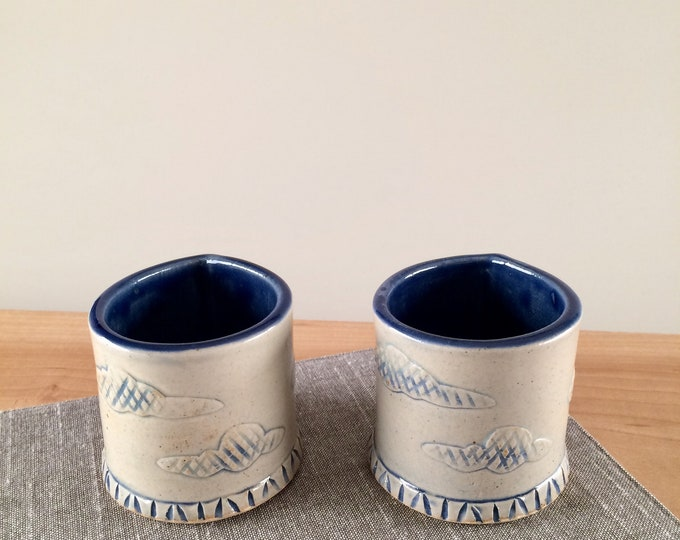 Featured listing image: Ceramic Espresso Cup set of two