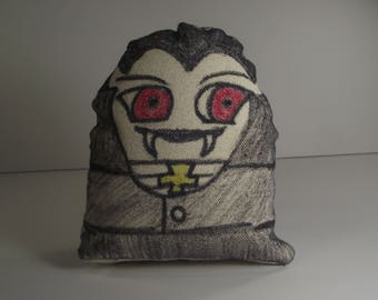 Dracula Plushie Person