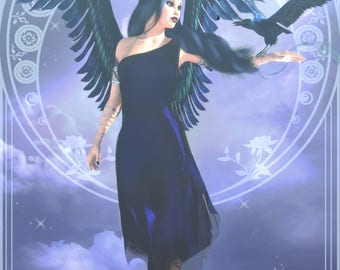 "Twilight Angel 12 x 18"" Print"
