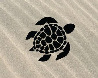 Sea Turtle SVG Clip Art Vector Nautical Clipart File Design Files Cutting Image Design Cut DXF Cricut Turtles Tropical Ocean Marine Bundle