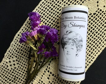 dry shampoo: lavender, chamomile, rose | floral | botanical | cruelty free hair care