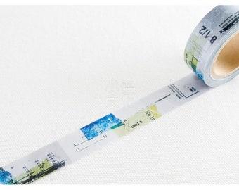 Yohaku Original Japanese Washi Tape - Design Y-022