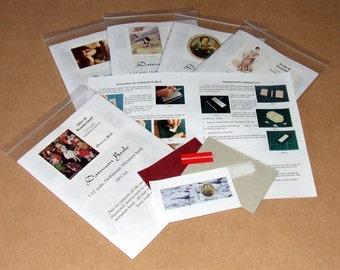 Dollshouse miniature book kit - Heidi