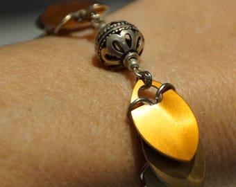 Scale Maille, Omani Silver Bracelet
