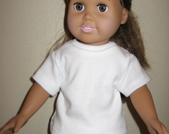 Tee Shirt for American Girl and other 18 inch dolls