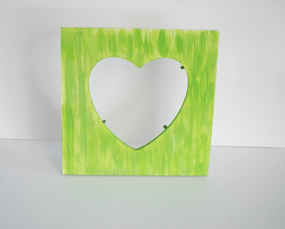 Lime Green Picture Frame, lime green decor, green house decor ...