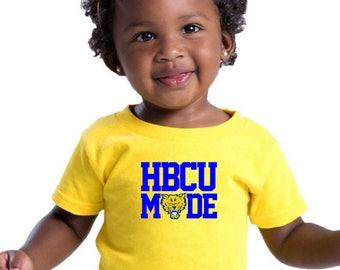 HBCU Future Fort Valley State University Melanin Children Onesie FVSU 1895 Legacy Black Colleges University Infant Apparel HBCU Legacy Pride