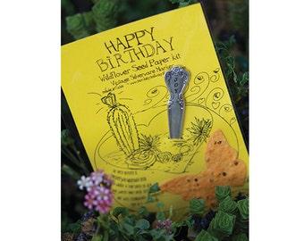 Happy Birthday Wildflower Seed Paper Kit (E0432)