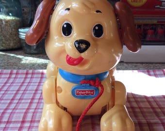 Fisher Price Puppy / pull along toy