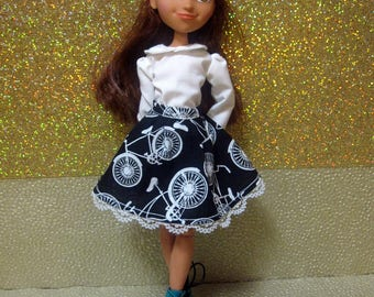 Made To Order! Spirit Riding Free Doll Clothes - You choose the colors and trims! - Skirt