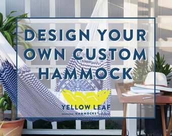 Custom Hammock (Two+ Person): Design Your Own One-of-a-Kind Hammock (w/ Free Shipping)