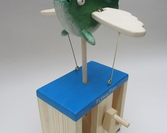 Flying Fish Automaton