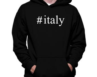 Italy Hashtag Hoodie