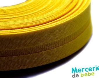 Through 20 mm - yellow Uni - by the yard