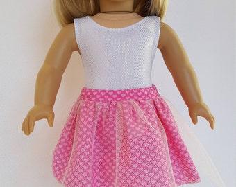 Tulle Overlay Heart Skirt