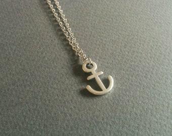 Anchor. Necklace