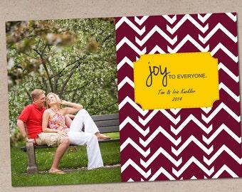 Holiday Photo Card: Uppity Joy