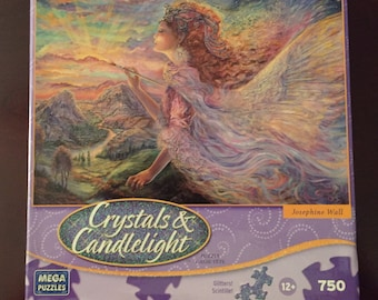 Josephine Wall 750-piece Crystals & Candlelight Puzzle AURORA New