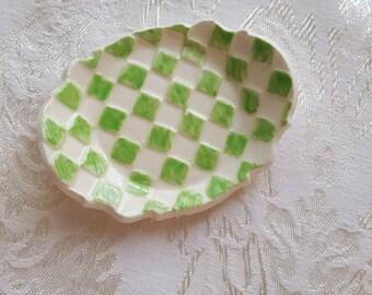 Harlequin Trinket dish/chopstick holder/change dish/ring dish