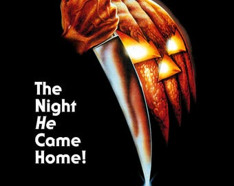 Halloween 1978 Cult Vintage Slasher Horror Film Movie Poster Print A3 A4