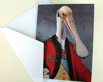 Lieutenant Bill Ajaja - Note Card