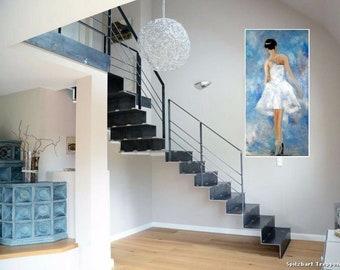 Ballerina painting oil painting by Valery Rudenko