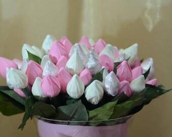 Chocolate Rose Buds