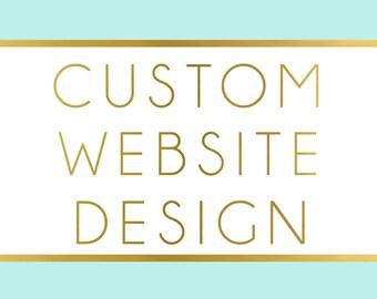 Custom Website Design - Custom WordPress Design - WordPress Customization - Website Customization - WordPress Website Design - Web Design